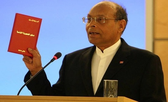 المرزوقي يدعو إلى انتخابات تشريعية ورئاسية مبكرة في تونس