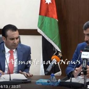 صور وفيديو :  اجتماع اللجنة الادارية مع العجارمة والناصر لبحث مطالب الفئة الثالثة في وزارة التربية