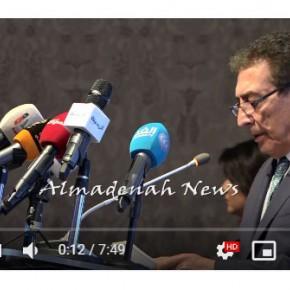 بالفيديو : كلمة الطراونة في المنتدى الاقتصادي الاردني الثاني بالبحر الميت