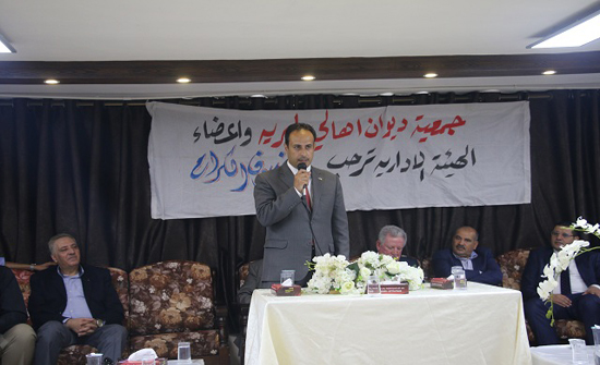 """""""الشرق الأوسط"""" تشارك في حفل جمعية """"ديوان أهالي البرية"""" لتكريم طلبة الثانوية العامة"""