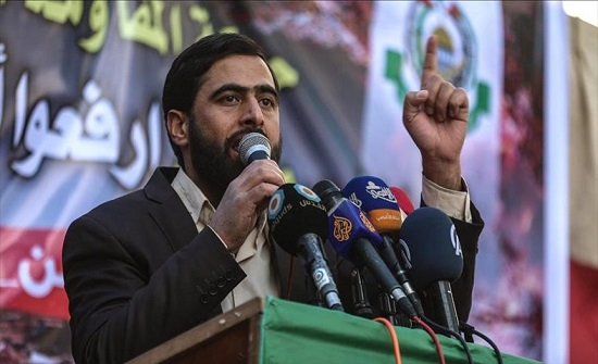 """""""حماس"""" تدعو لتوحيد الموقف السياسي أسوة بـ""""وحدة المقاومة"""""""