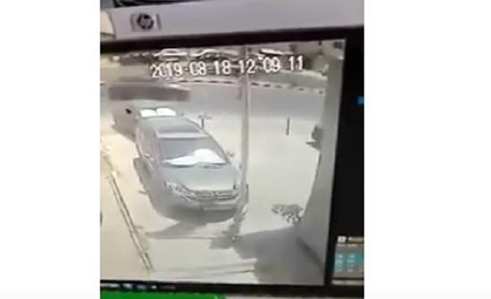 بالفيديو : دهس فتاة واصابة شخصين في السلط