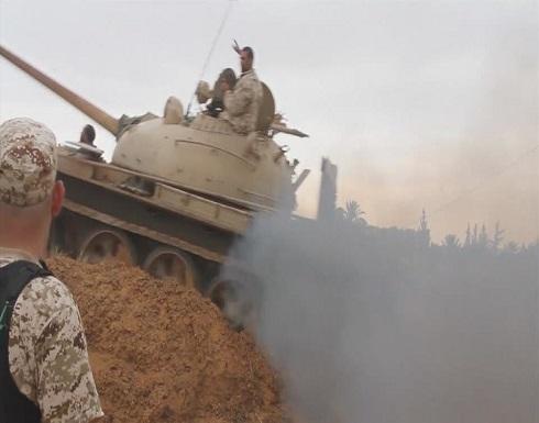 """الجيش الليبي: نتقدم صوب طرابلس ونفذنا غارات على """"الوفاق"""""""