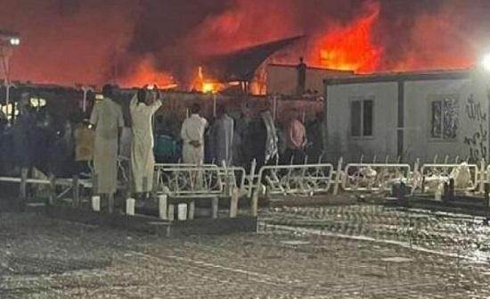 العراق يعلن الحداد على ضحايا حريق مستشفى ذي قار