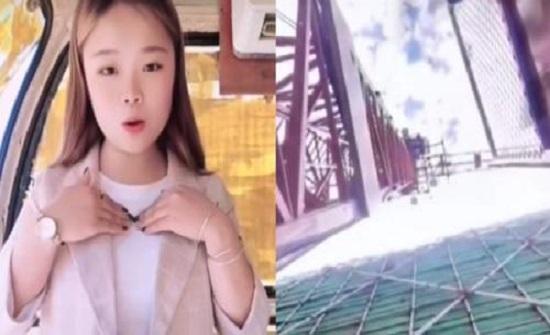 جوال فتاة يوثق سقوطها من ارتفاع 50 مترًا - فيديو
