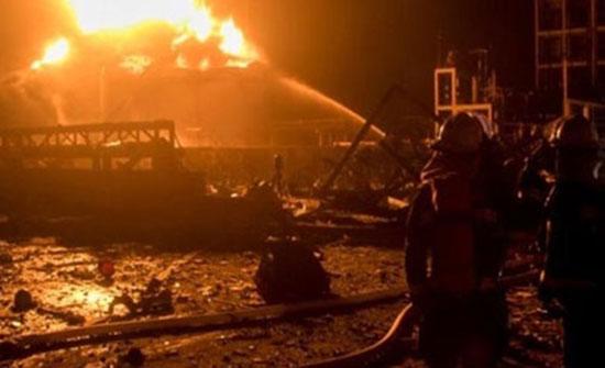 الصين: ارتفاع حصيلة ضحايا انفجار بمصنع غاز إلى 10 قتلى