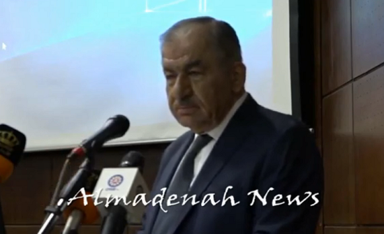 بالفيديو : تسجيل لكلمة العين مازن الساكت في مؤتمر التنمية المستدامة والسلم المجتمعي في الوطن العربي