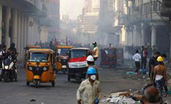 بالفيديو : ارتفاع عدد قتلى تظاهرات اليوم في بغداد إلى 6 إضافة لـ 38 جريحا
