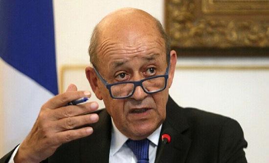 """وزير خارجية فرنسا: لبنان يمر بأزمة """"خطيرة جدا"""" وندعو السلطات اللبنانية للمساعدة في ضمان وحدة لبنان"""