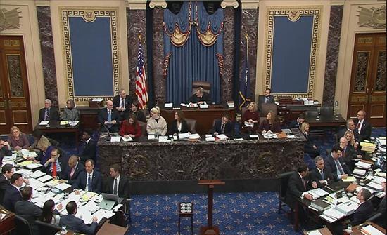 مجلس الشيوخ الأميركي يرفض إدانة ترمب