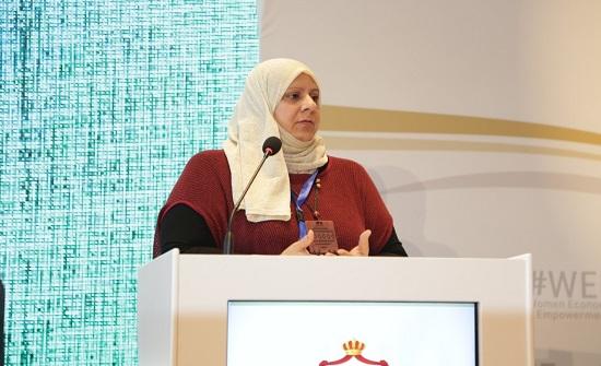 مشاركات في مؤتمر تمكين المرأة الاقتصادي يعرضن خطط عمل للمحافظات