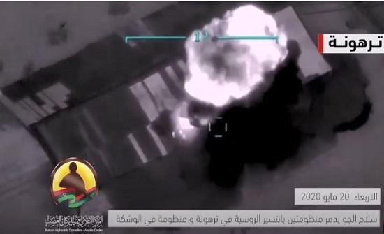 بالفيديو : الجيش الليبي يدمر 6 منظومات دفاعية روسية