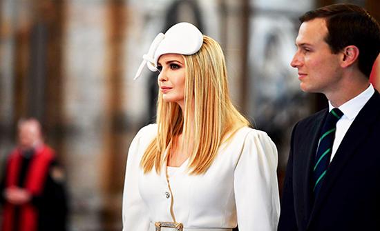 البيت الأبيض يكشف نتائج فحص كورونا لإيفانكا ترمب وزوجها جاريد كوشنر