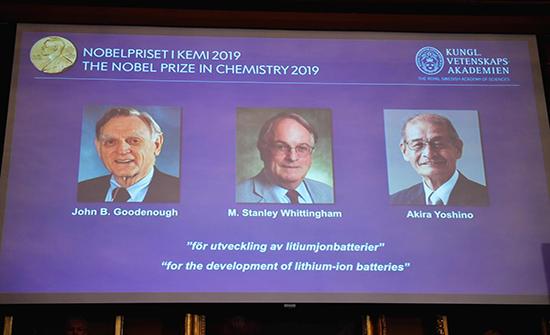 فوز رواد بطاريات الليثيوم بجائزة نوبل للكيمياء للعام الحالي