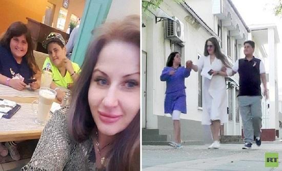 امرأة روسية تسترد ولديها من زوجها الأردني