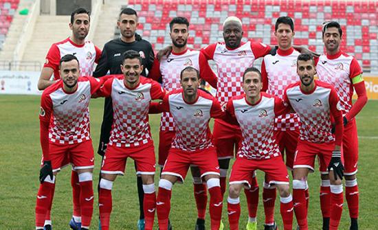 شباب الأردن يحقق الفوز على الحسين إربد بدوري المحترفين