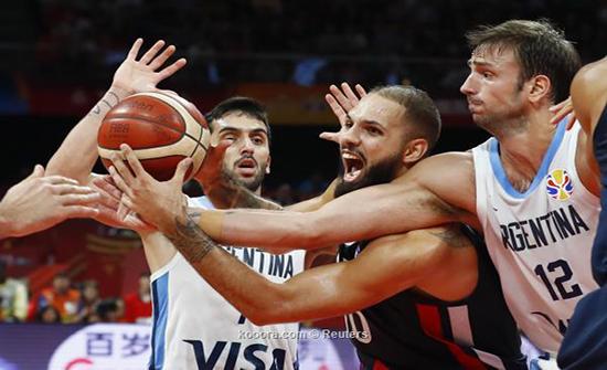 الأرجنتين تنهي مغامرة فرنسا وتصعد لنهائي مونديال السلة
