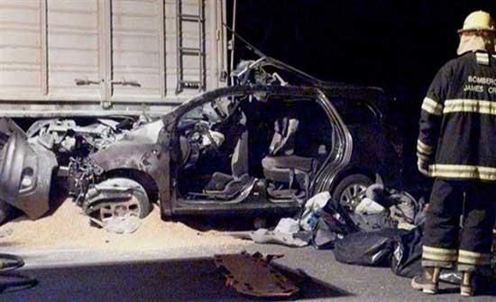 مصرع وزير النقل الأرجنتيني في حادث سير