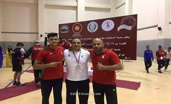ميداليتان للأردن في البطولة العربية لناشئي المصارعة