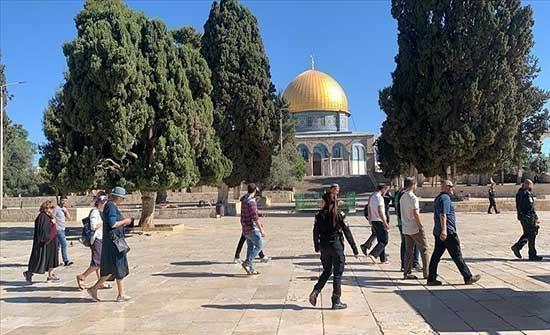 عشرات المستوطنين يجددون اقتحامهم للمسجد الأقصى