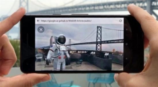غوغل تعمل على جلب الواقع المعزز إلى متصفحها كروم