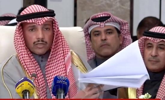 بالفيديو : من عمان  .. الغانم يلقي صفقة القرن في  سلة المهملات
