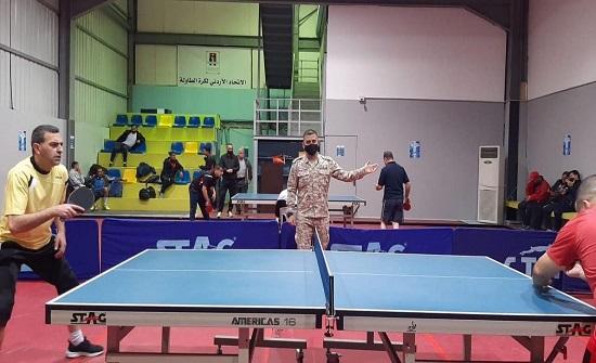 انطلاق منافسات دوري القوات المسلحة لكرة الطاولة