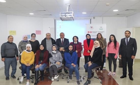"""اطلاق برنامج """"تمكين المرأة للأدوار القيادية"""" في اعلام اليرموك"""