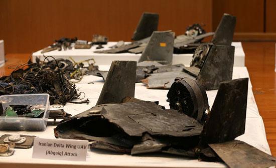 تقريران: أجهزة بمسيرات استهدفت أرامكو وُجدت بطائرات إيرانية