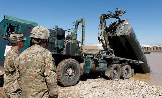 العراق.. العثور على منصة صواريخ موجهة نحو مطار بغداد