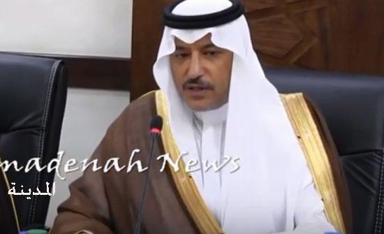بالفيديو : السفير السعودي في الاردن : قرار نقل السفارة للقدس ليس قرآنا منزلا
