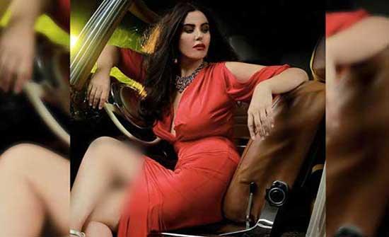 الاردنية دانا حمدان تتصدر الترند بالاسود المكشوف .. شاهد