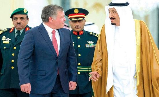 الملك يتلقى دعوة من العاهل السعودي للمشاركة في قمة العشرين العام المقبل