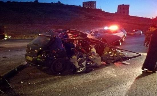 وفاة و إصابة  إثر حادث تدهور ودهس في مادبا