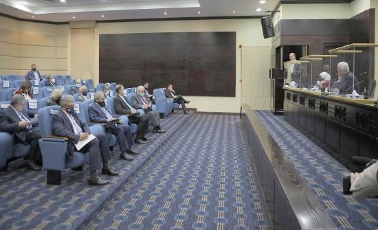 تربوية الأعيان تلتقي رؤساء الجامعات الحكومية