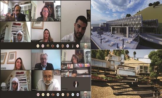 مناقشة مشروعي تخرج لطالبين بالألمانية الأردنية لتطوير الحديقة النباتية الملكية