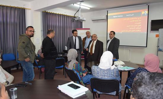 جامعة إربد الأهلية تقيم دورة في التربية الإعلامية والمعلوماتية للطلبة