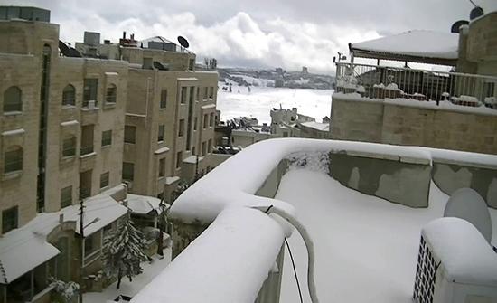 اسماء : المناطق المتوقع تراكم الثلوج فيها