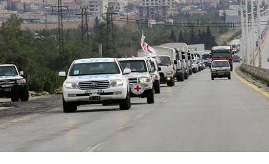 الأمم المتحدة تستأنف إرسال مساعدات إنسانية إلى سوريا عبر تركيا