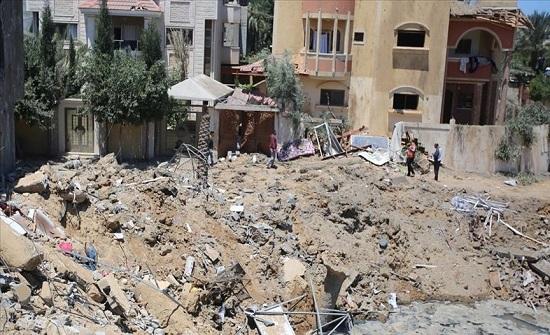 غزة.. 122 شهيدا بينهم 31 طفلا و20 سيدة منذ الإثنين