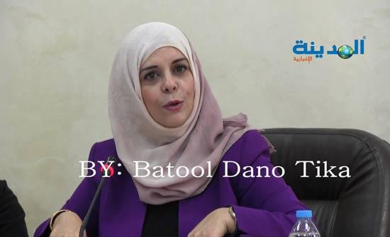 ابو دلبوح رئيسة للجنة المرأة النيابية و العتوم مقررا