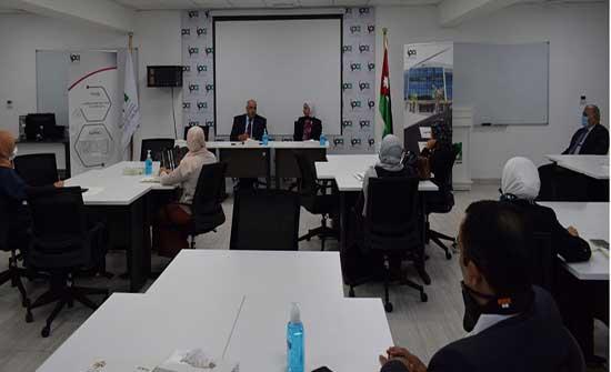 الناصر: مستمرون بالتدريب لرفع كفاءة الموظف العام