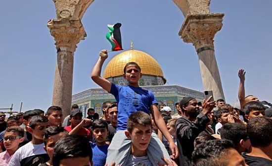 """خطيب الجمعة بـ""""الأقصى"""": غزة ملأت قلوبنا كرامة وعزّة .. بالفيديو"""