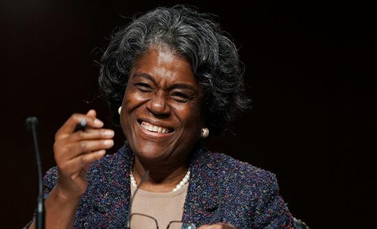 مجلس الشيوخ الأمريكي يؤيد مرشحة بايدن لمنصب سفيرة لدى الأمم المتحدة