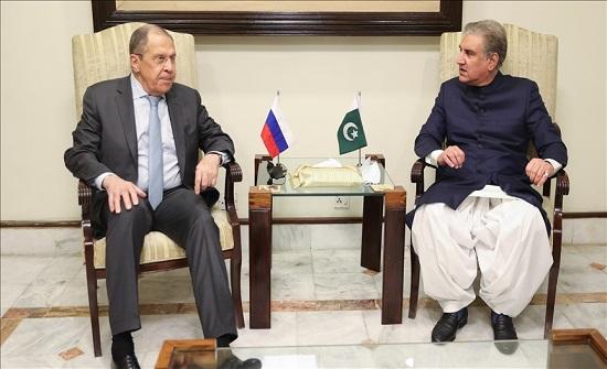 باكستان وروسيا تؤكدان ضرورة دعم عملية السلام الأفغانية