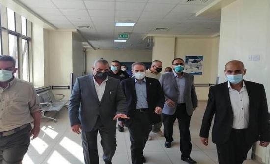 الهواري يتفقد مستشفيات ومركز صحي في أول أيام عيد الأضحى المبارك