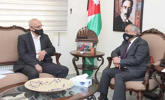 وزير الثقافة يلتقي رئيس اتحاد الناشرين