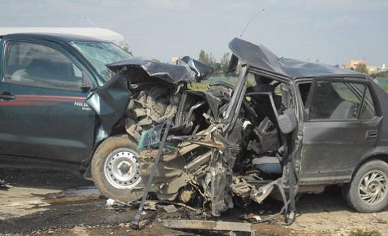 10 اصابات بحادثين منفصلين في اربد