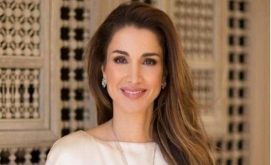الملكة رانيا تنشر صورة لسلمى وهاشم
