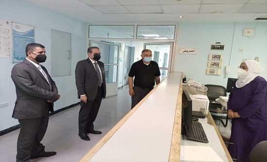الهواري يتفقد 3 مستشفيات حكومية بصورة مفاجئة